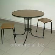 Стол с табуретками фото