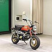 Мопед мокик Honda Monkey рама Z50J гв 1978 задний багажник пробег 6 т.км красный фото