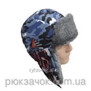 """Шапка - ушанка зимняя """"Big Fishing"""" , Теплая шапка для зимней рыбалки фото"""