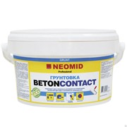 Грунт по бетону и штукатурке NEOMID BetonContact Proff (12 кг) фото
