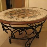 Столы из мозаики, изготовление мебели с элементами мозаики под заказ, Тернополь фото