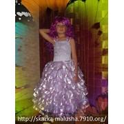 Детское бальное платье Лилея фото