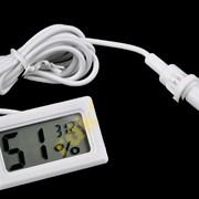 Термометр-гигрометр с выносным датчиком. фото