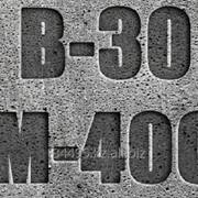Бетон товарный B30 (М-400) фото