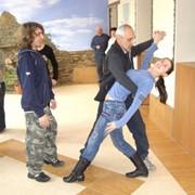 Обучение танцам инвалидов Центра профессиональной реабилитации Украина Крым Евпатория фото