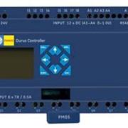 Контроллер (ПЛК, PLC) Durus, питание 24V DC, 12 входов 24VDC / 8 выходов (реле 8 A), 4 аналоговых входа, не расширяемый, без диспелея/клавиатуры GE Fanuc IC210NDR024 фото