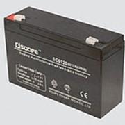 Аккумулятор свинцово-кислотный 6V,12Ah SC-6120 151*50*94мм фото