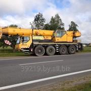 Аренда автокрана 70 тонн Liebherr LTM 1070-4.2 фото
