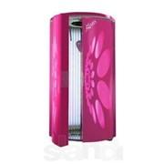 Вертикальный солярий KSUN / Италия c зеркальной платформой и MP3 плеером, 42 лампы фото