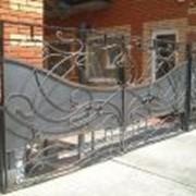 Ворота кованые Винница, уникальный дизайн изделия, минимальные цены, индивидуальный подход. фото
