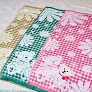 Детское полотенце с мишками фото