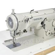 Typical GT655-02 Высокоскоростная 1-но игольная швейная машина челночного стежка для выполнения зигзагообразной строчки фото