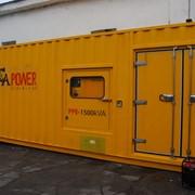 Дизель генератор PCA POWER 1500 л фото