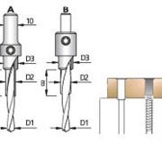 Сверло сборное трёхступенчатое ACD фото