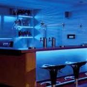 Подсветка барной стойки фото