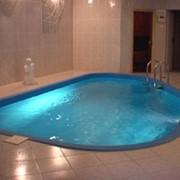 Стилизированный бассейн в Молдове фото