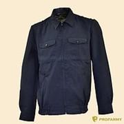 Куртка ГУИН серо-синяя (габардин) фото