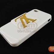 Накладка iPhone 4S LV (гелевый с подставкой) белый 70523b фото
