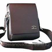 Мужской кожаный портфель Kangaroo фото