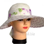 Шляпа соломенная капор 3-02 фото