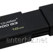 Флеш-накопитель USB3.0 16G Kingston DataTraveler 100 G3 (DT100G3/16GB) фото