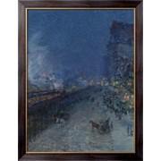Картина Ночной поезд, 1894, Хассам, Фредерик Чайлд фото