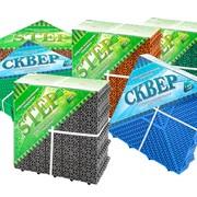 Универсальное напольное модульное пластиковое покрытие СТЕП фото