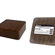 Коробка распаячная КР 50х50х20 ОП бук IP40, инд. штрихкод TDM фото