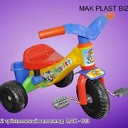Велосипед детский трехколесный фото
