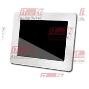 "Цифровая фоторамка Digital Photo Frame 4GB 830, 8"" (Белый) Transcend фото"