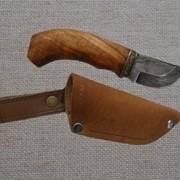 Нож из дамасской стали №132 фото