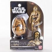 Яйцо-Трансформер Star Wars Bandai 84547 Звездные Войны Робот C3PO фото