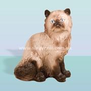 Садовая скульптура Кот персидский фото