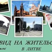 Вид на жительство в Литве фото