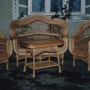 Мебель из лозы фото