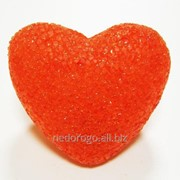 Сердце пластиковое с подсветкой LED К35461 фото