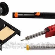 Набор Светозар для паяльных работ, паяльник SV-55307 + подставка + припой + шприц, 70Вт код SV-55315-70-H4 фото