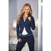 Стильный джинсовый жакет E-L3700 фото