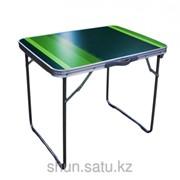 Стол складной, туристический, 70 * 50 см, зеленый фото