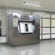 Санитарная барьерная стиральная машина фото