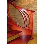 Проектирование эксклюзивной деревянной мебели из массива ясеня фото