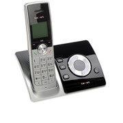 Цифровой телефон Texet, TX-D7455А, черно-серебристый фото