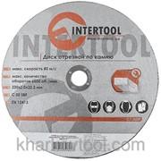 Круг отрезной по камню Intertool CT-5009 фото