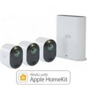 Система умного беспроводного видеонаблюдения NetGear Arlo Ultra 4K UHD Wire-Free Security 3-Camera System (VMS5340-100EUS) фото