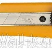 Нож Olfa с выдвижным лезвием эргономичный с резиновой накладкой, 18мм Код: OL-L-2 фото