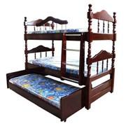 Кровать 3-х ярусная фото