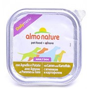 Almo Nature 300г Влажный корм для взрослых собак всех пород Ягненок и картофель фото