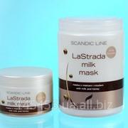Маска для окрашенных волос (на основе молока) Lastrada Milk Mask Profis фото