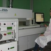 Услуги установки лазерной резки керамических материалов ЭМ-250К фото