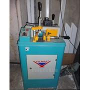 Станок Yilmaz KM-210 предназначен для торцовки импостных оконных профилей из ПВХ и алюминия фото